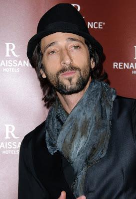 Men in scarves - That'... Adrien Brody Instagram
