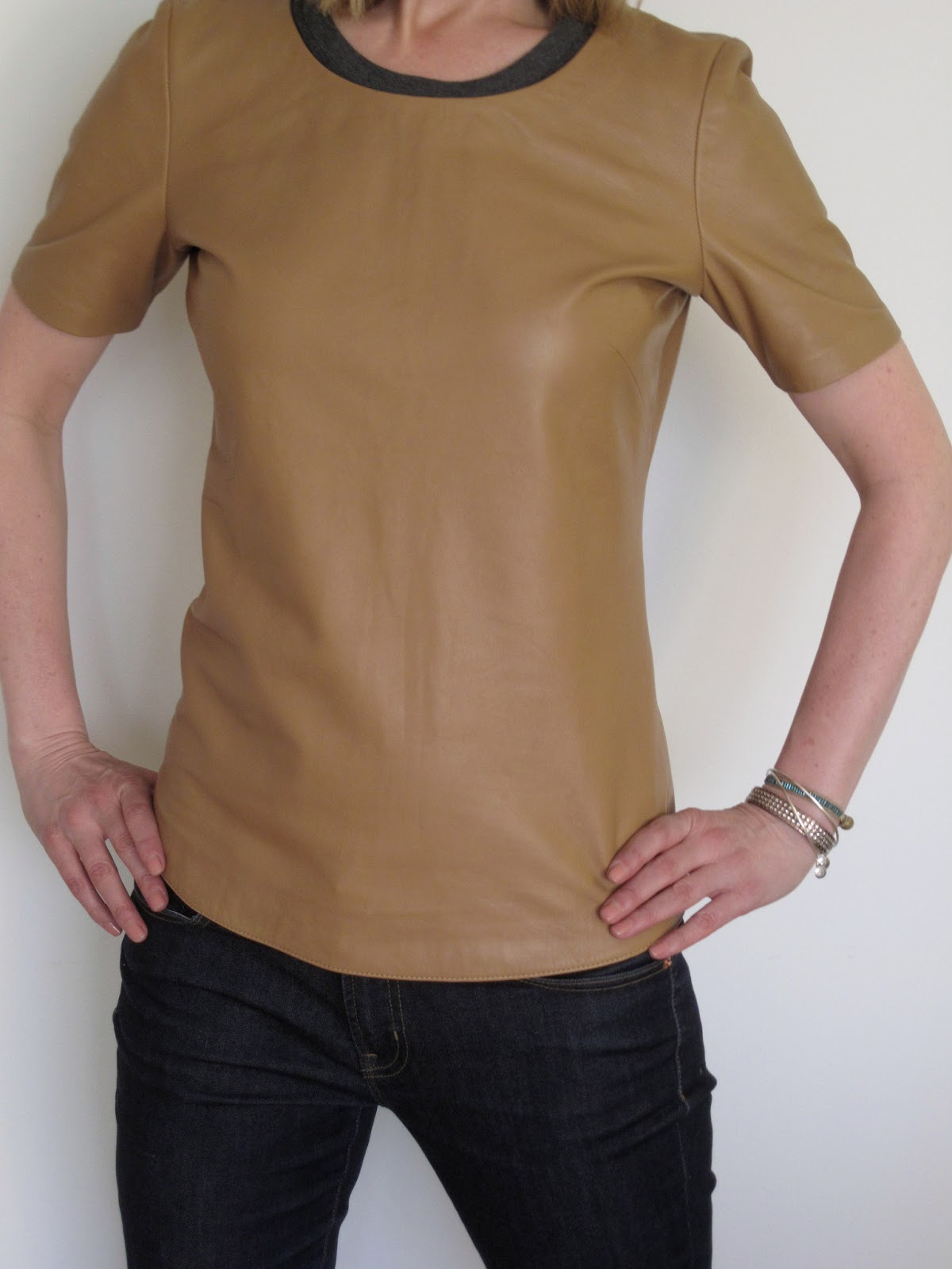 How to wear a leather t shirt that 39 s not my age for Wear my t shirt