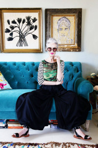 Grown-up style inspiration from Linda Rodin