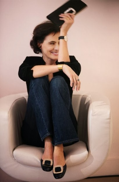 ines de la fressange collaborates with uniqlo that 39 s not. Black Bedroom Furniture Sets. Home Design Ideas