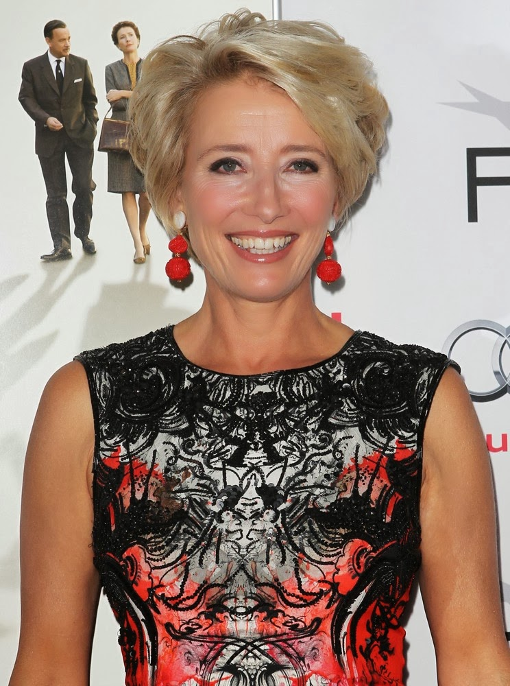 Emma Thompson  Sophisticated ALLURE Hairstyles 2018