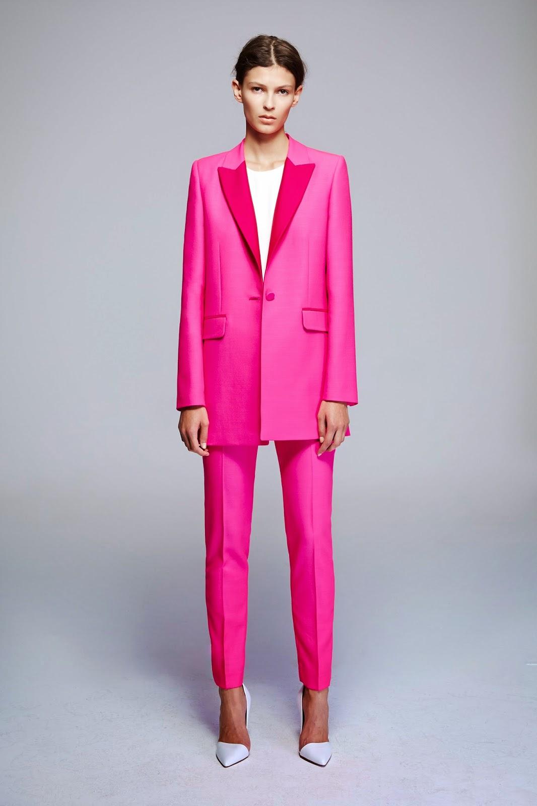 Womens pink blazer jacket