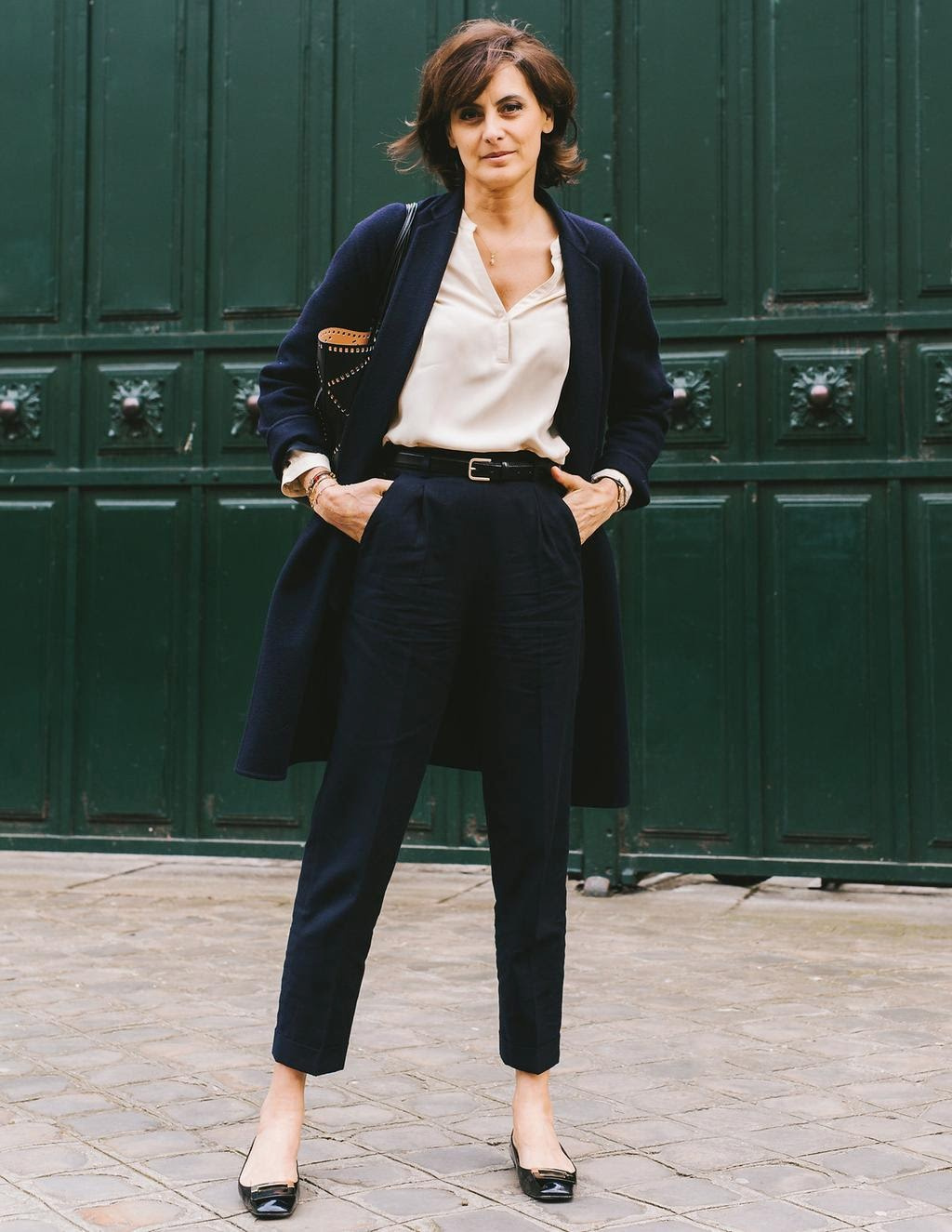 Parisian Uniform Dressing A La Ines De La Fressange That