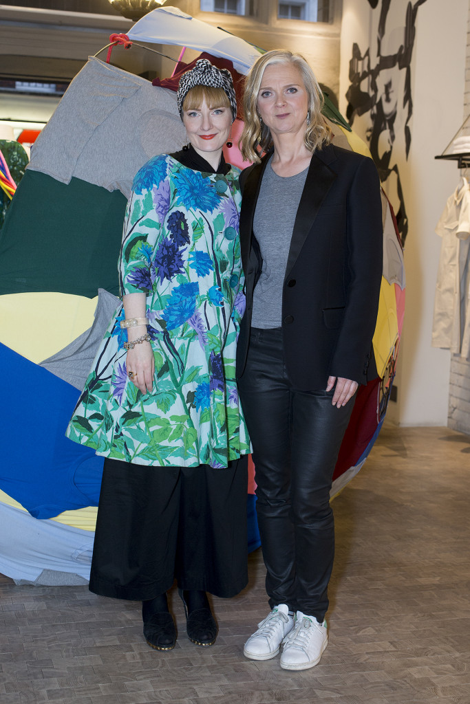My lovely editor Kate Pollard (Future FABster) and me