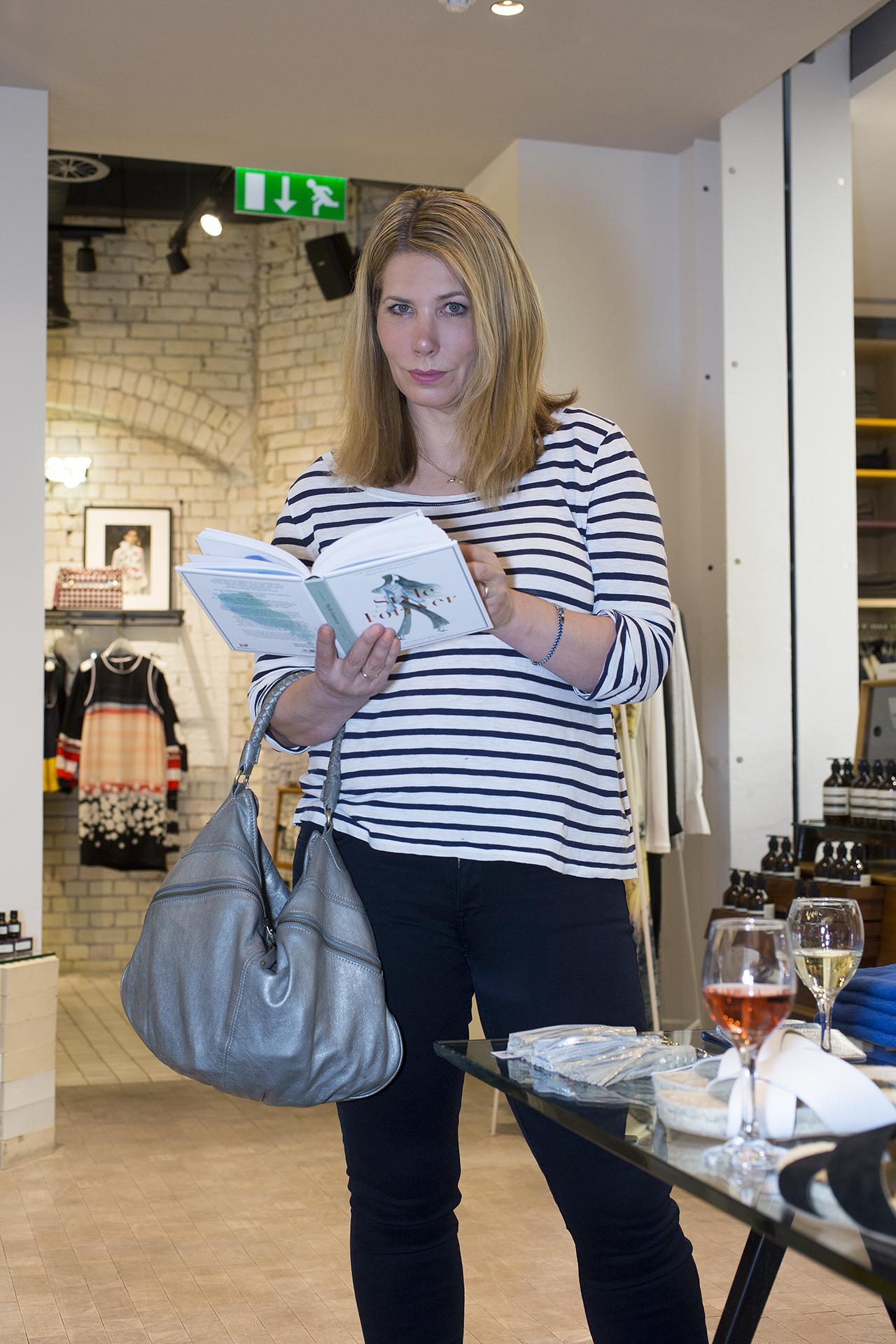 Journalist Leah Hardy