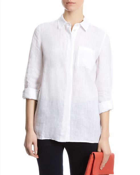 Jaeger white linen shirt-image_3