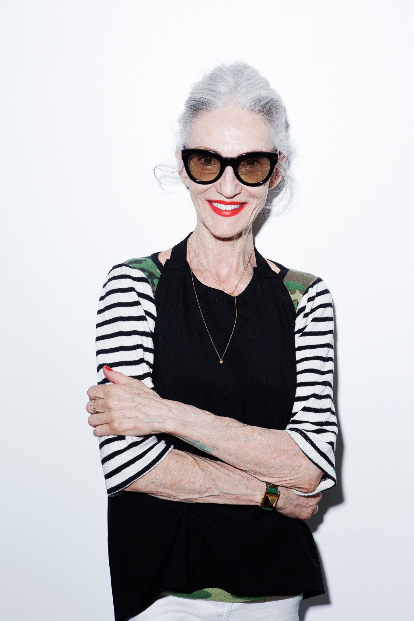 19 May 2013 --- Linda Rodin --- Image by © Kristiina Wilson/Corbis Outline