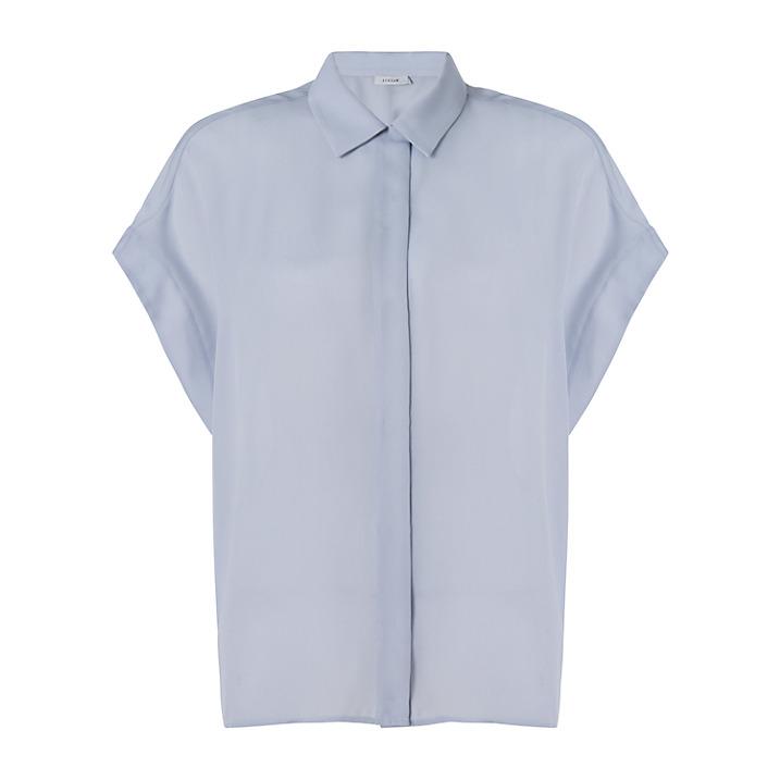 jigsaw blue shirt, JL