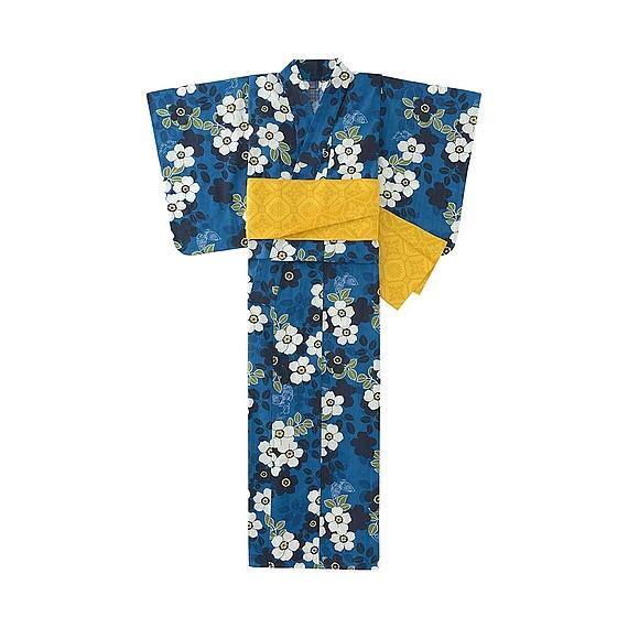 summer kimono, Uniqlo
