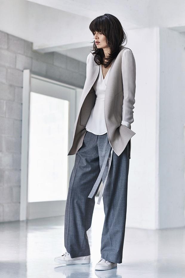 Jigsaw sleeveless jacket1200