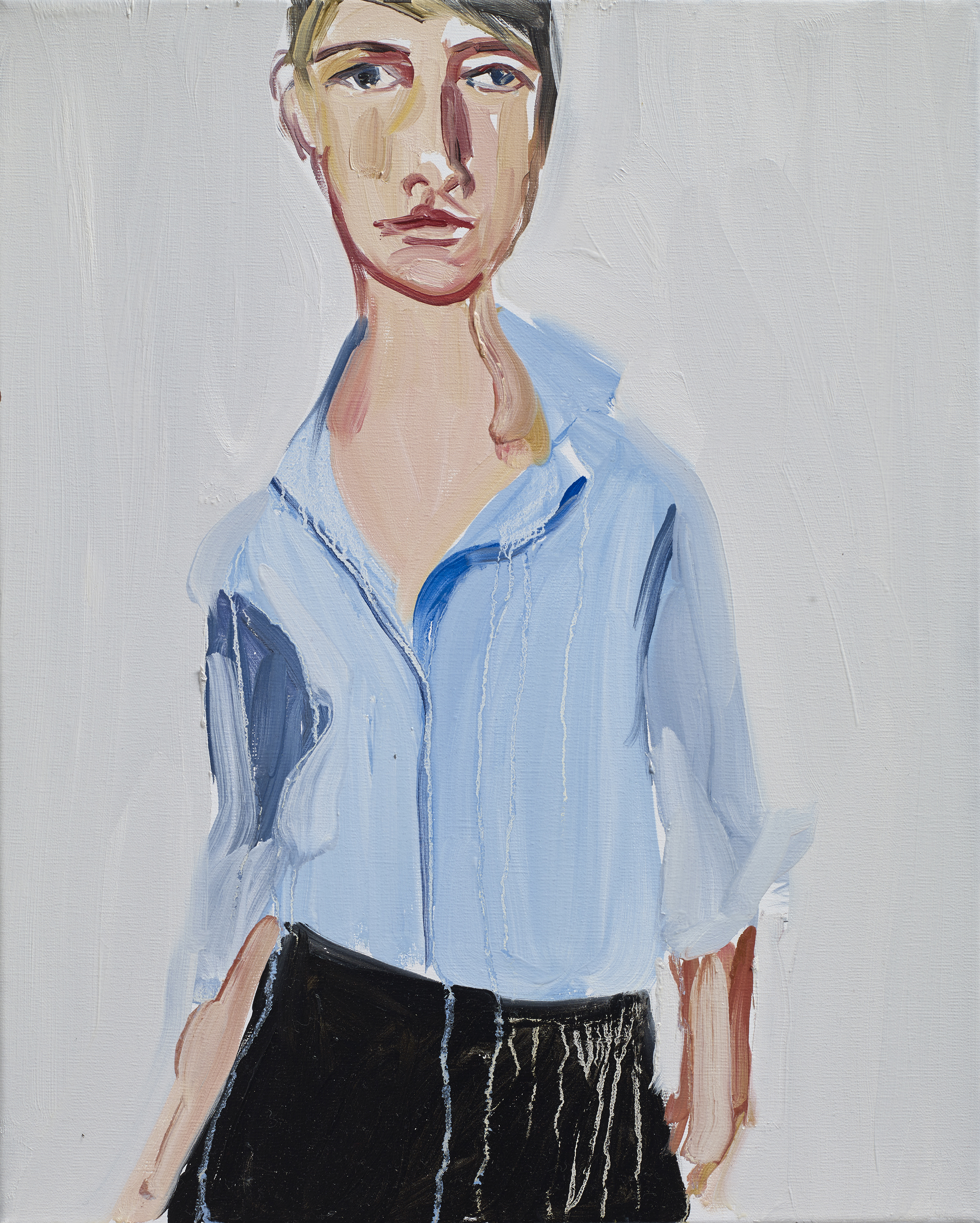 CJ1047_Brunette in a Blue Shirt_2015