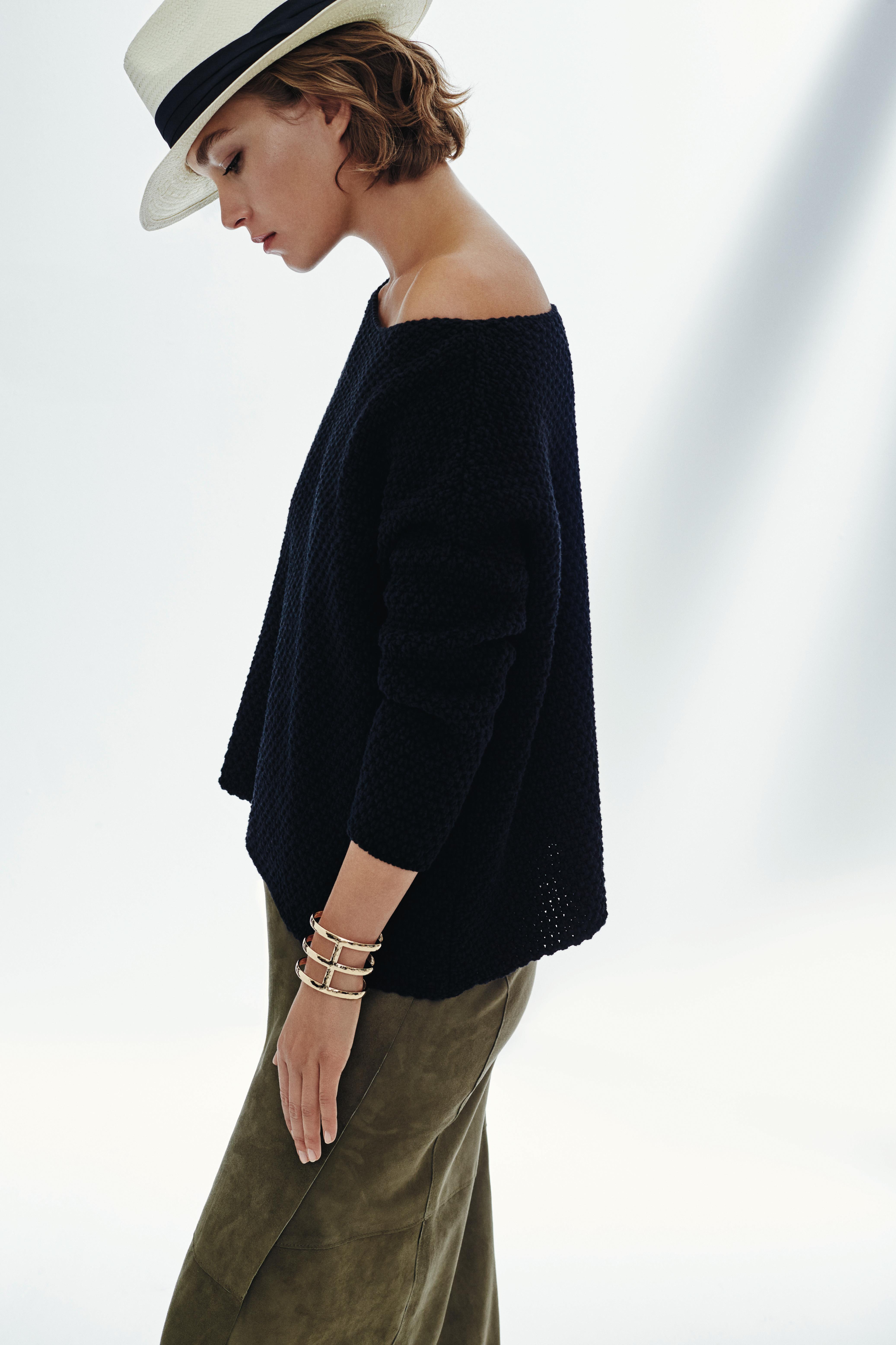 hobbs_suede skirt off shoulder top
