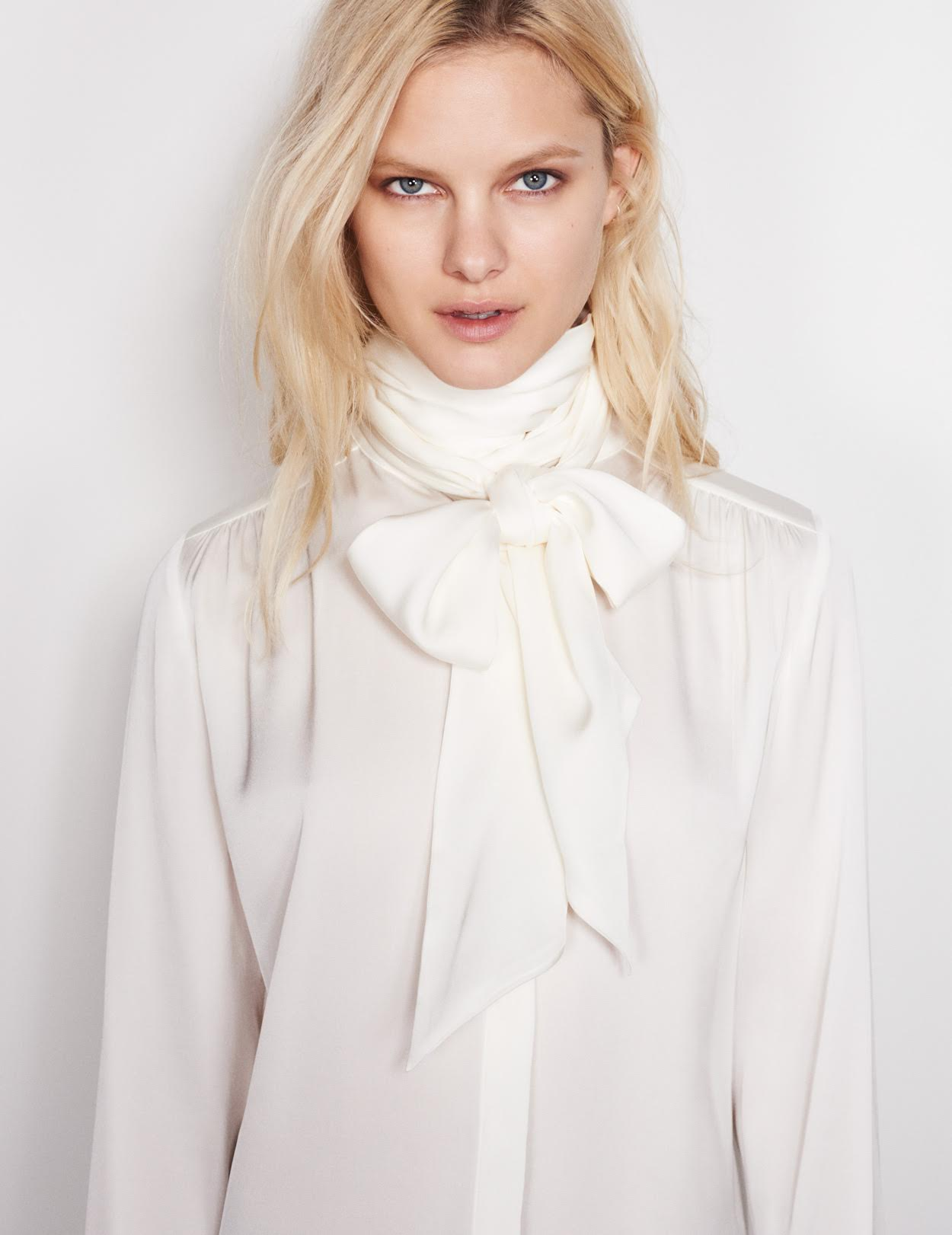 Lauren Silk Blouse and Bow