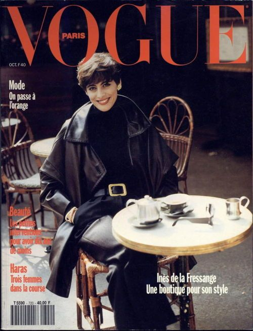 Inesdelafressange, French Vogueb