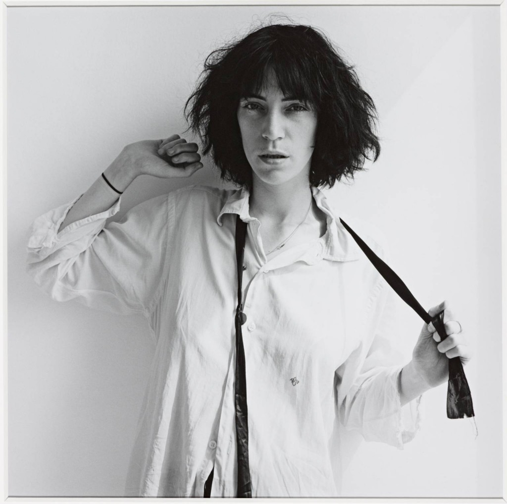 Patti Smith 1975 Robert Mapplethorpe 1946-1989 ARTIST ROOMS  Acquired jointly with the National Galleries of Scotland through The d'Offay Donation with assistance from the National Heritage Memorial Fund and the Art Fund 2008 http://www.tate.org.uk/art/work/AR00185