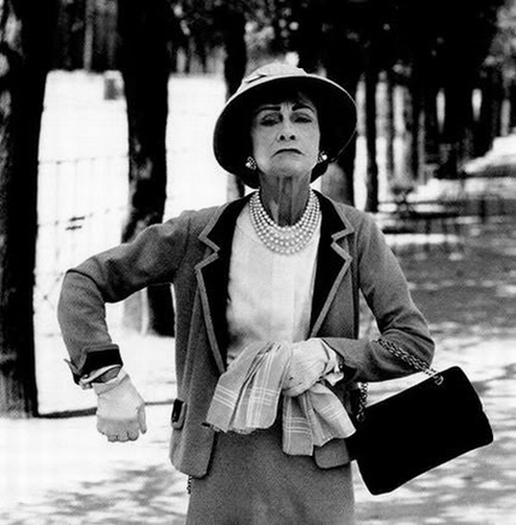 coco chanel angry