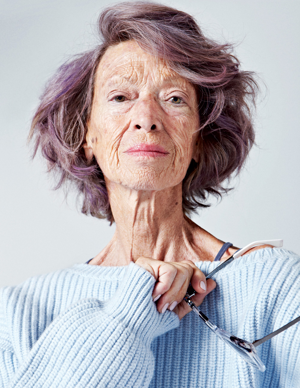 Ageless Beauty 72 Year Old Loulou Van Damme That S Not My Age