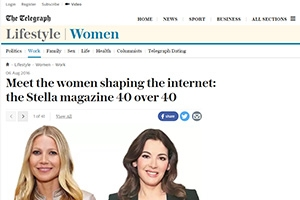 Meet the women shaping the internet: the Stella magazine 40 over 40