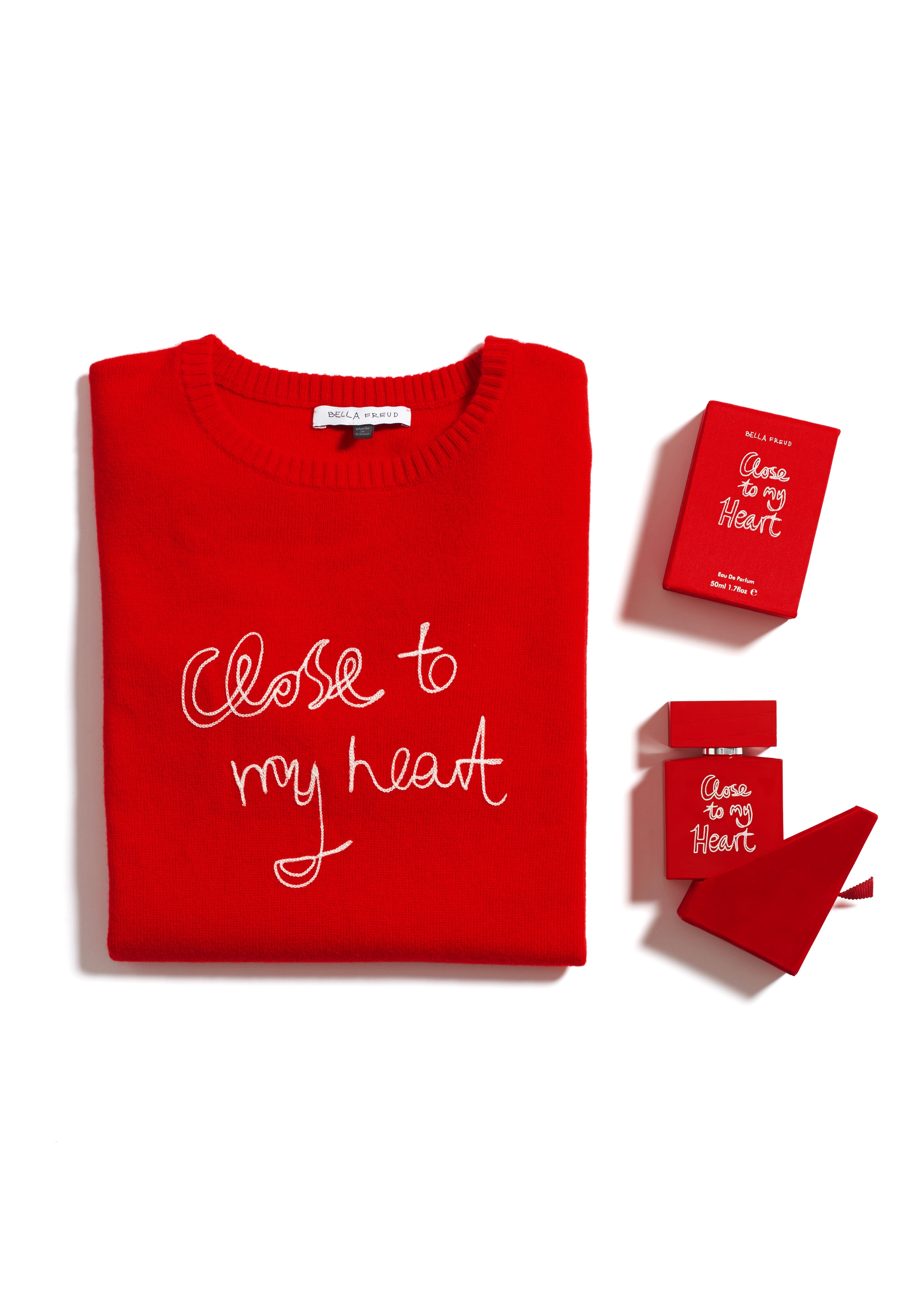 Close to my heart knit £300 and fragrance £95