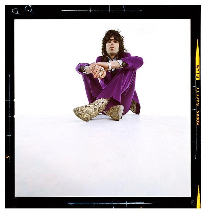 """Keith Richards """"Purple"""" London 1968"""