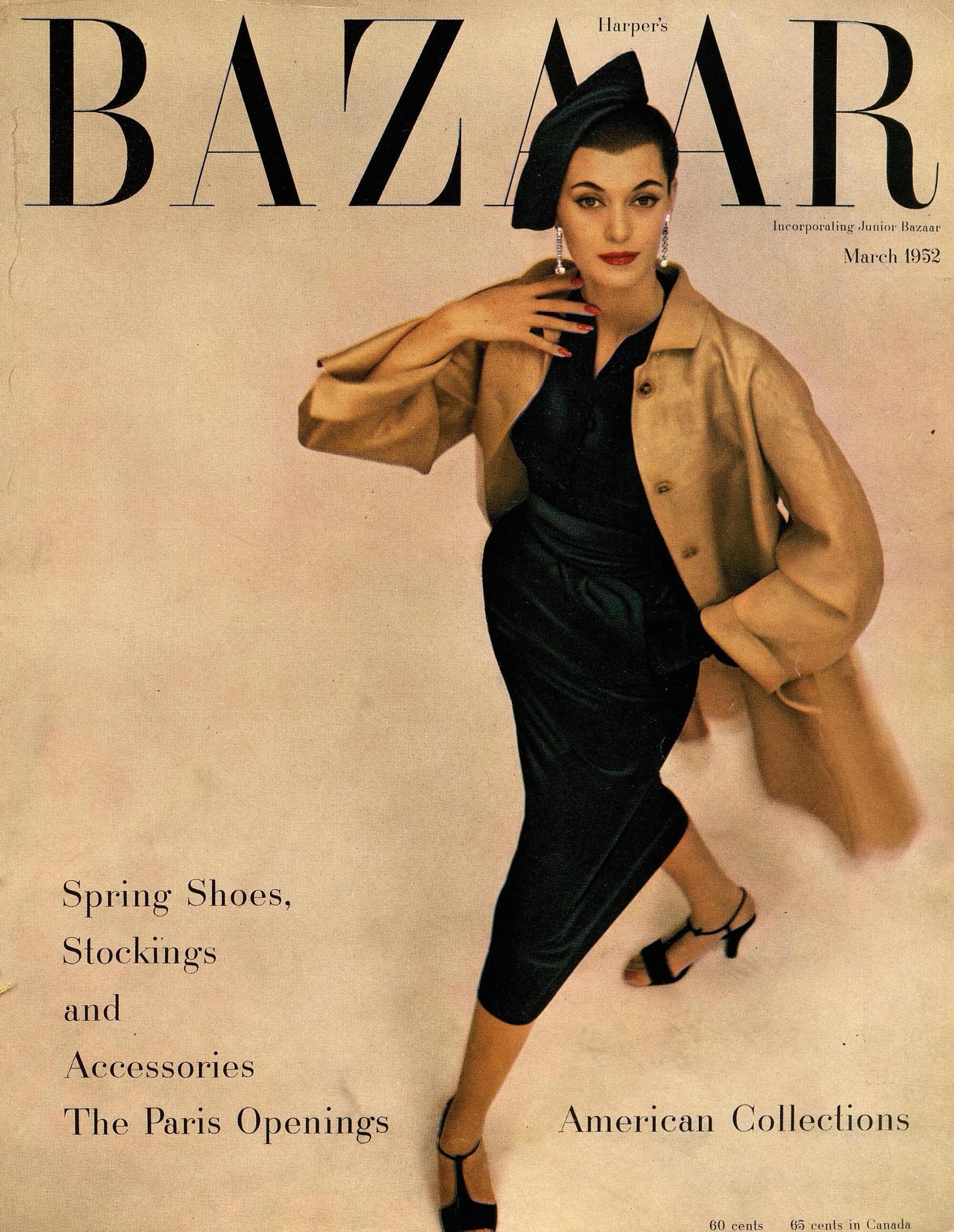 Barbara Mullen on the cover of Harper's Bazaar. Image via That's Not My Age.