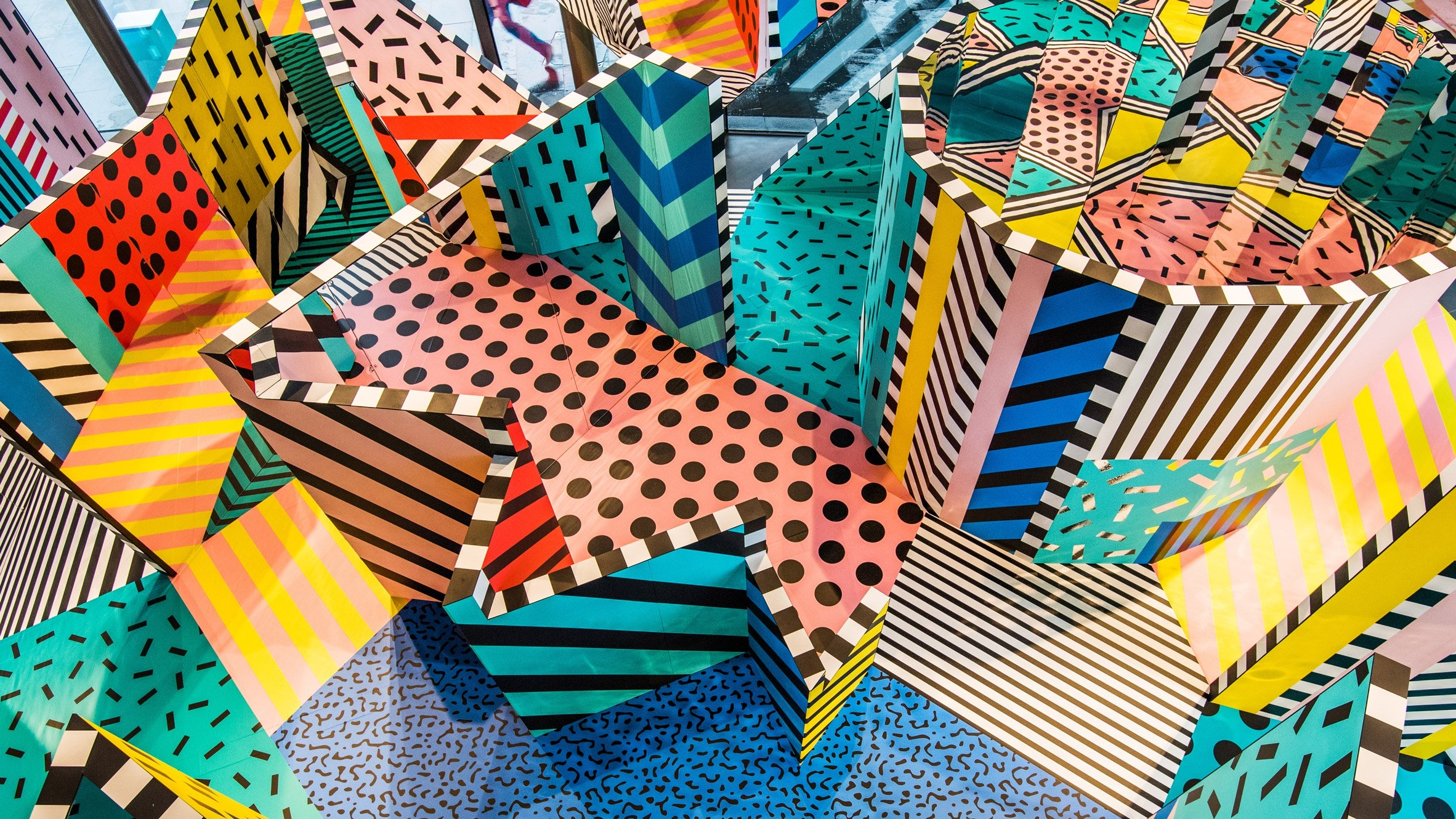 London To Brighton Cycle 2017 >> Camille Walala's colourful exhibition at the Now Gallery - That's Not My Age