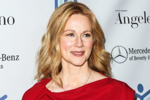 Something to look forward to: Laura Linney on stage in My Name is Lucy Barton