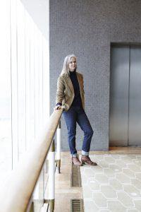 What to wear right now: dark denim jeans