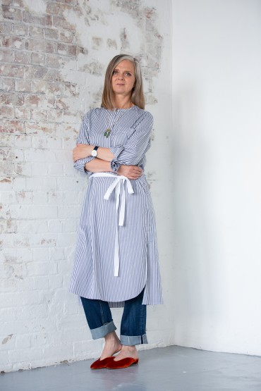 How to wear a shirtdress this autumn