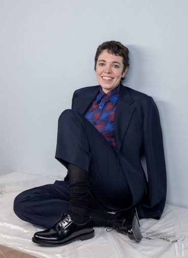 Thank you for being patient and Olivia Colman in The Favourite