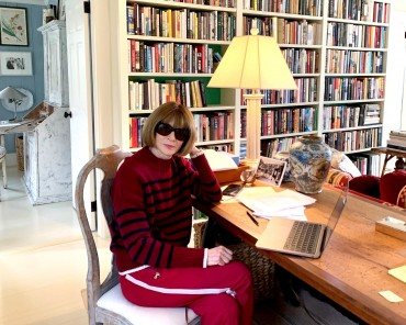 Working From Home like Anna Wintour