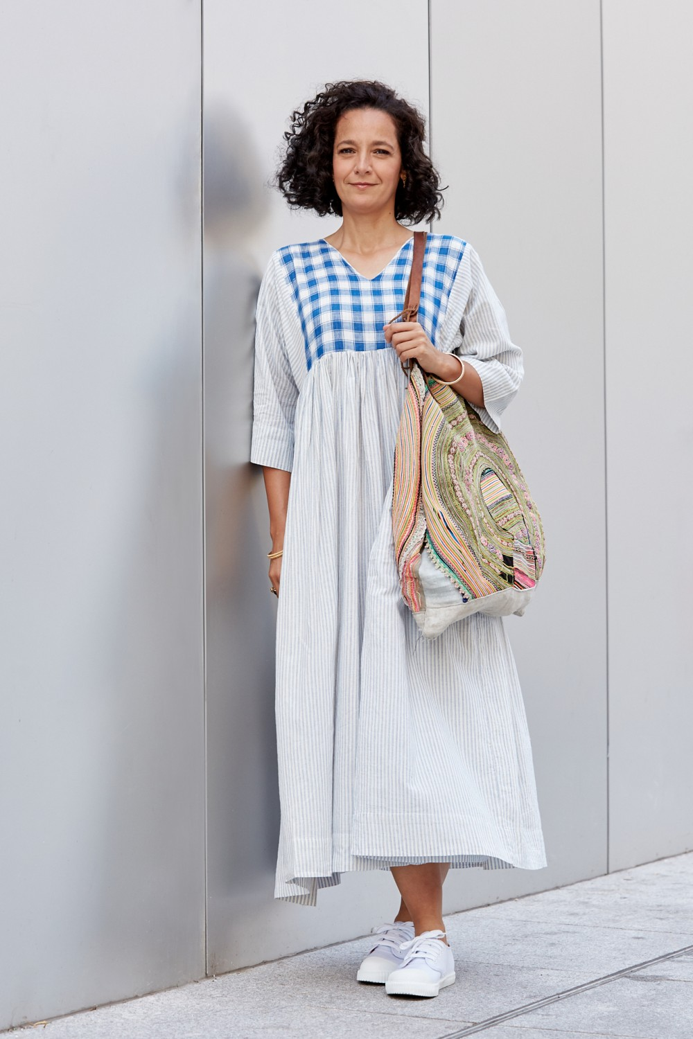 Sustainable and wafty: this is the dress for summer