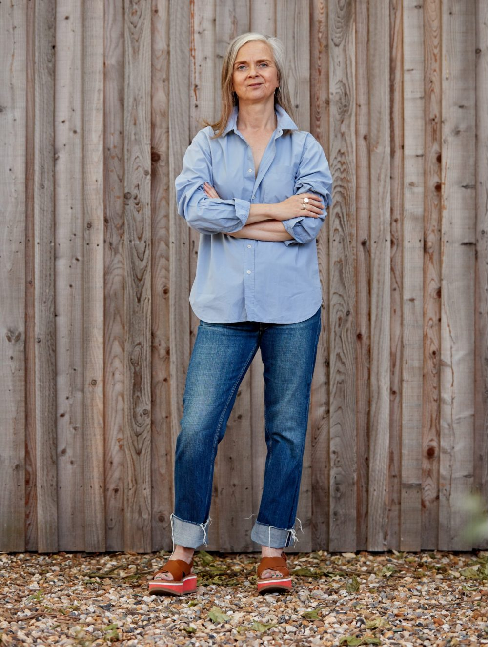 Grown-up style staple: The Lovely Blue Shirt