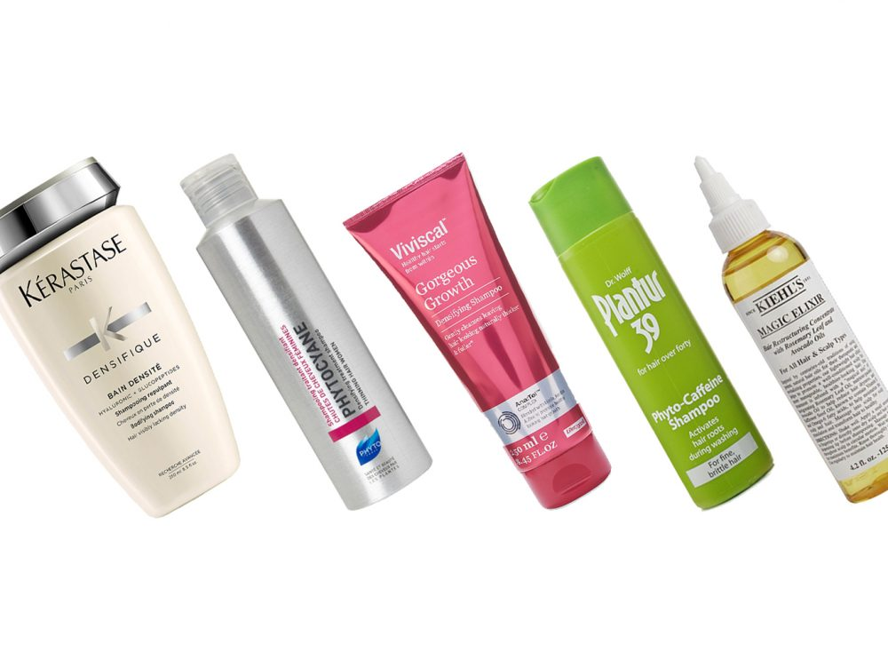 Our top 10 products for thinning hair