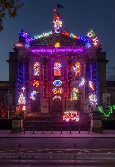 Artist Chila Kumari Burman is lighting up London