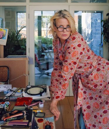 Love this: Jeny Howorth in Liberty print pyjamas
