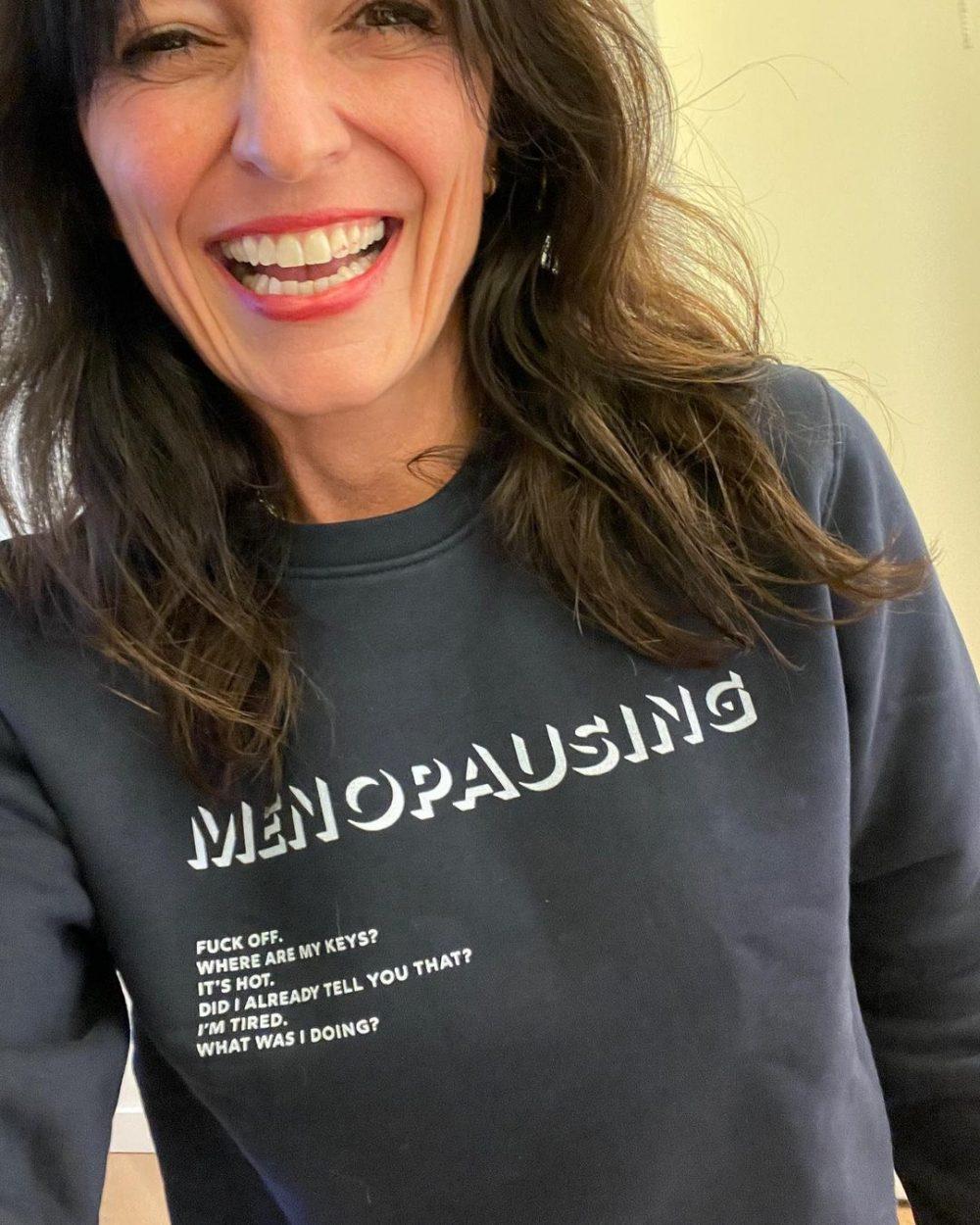 LOVE this: Davina McCall's menopause sweatshirt