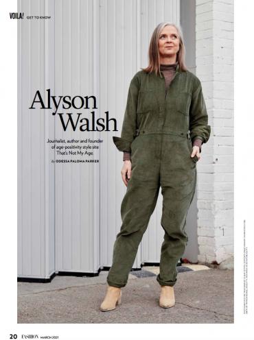 Fashion magazine Canada March 2021