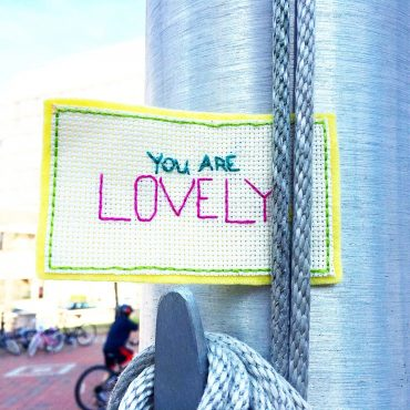 Craftivisim: Using creative energy to make a difference