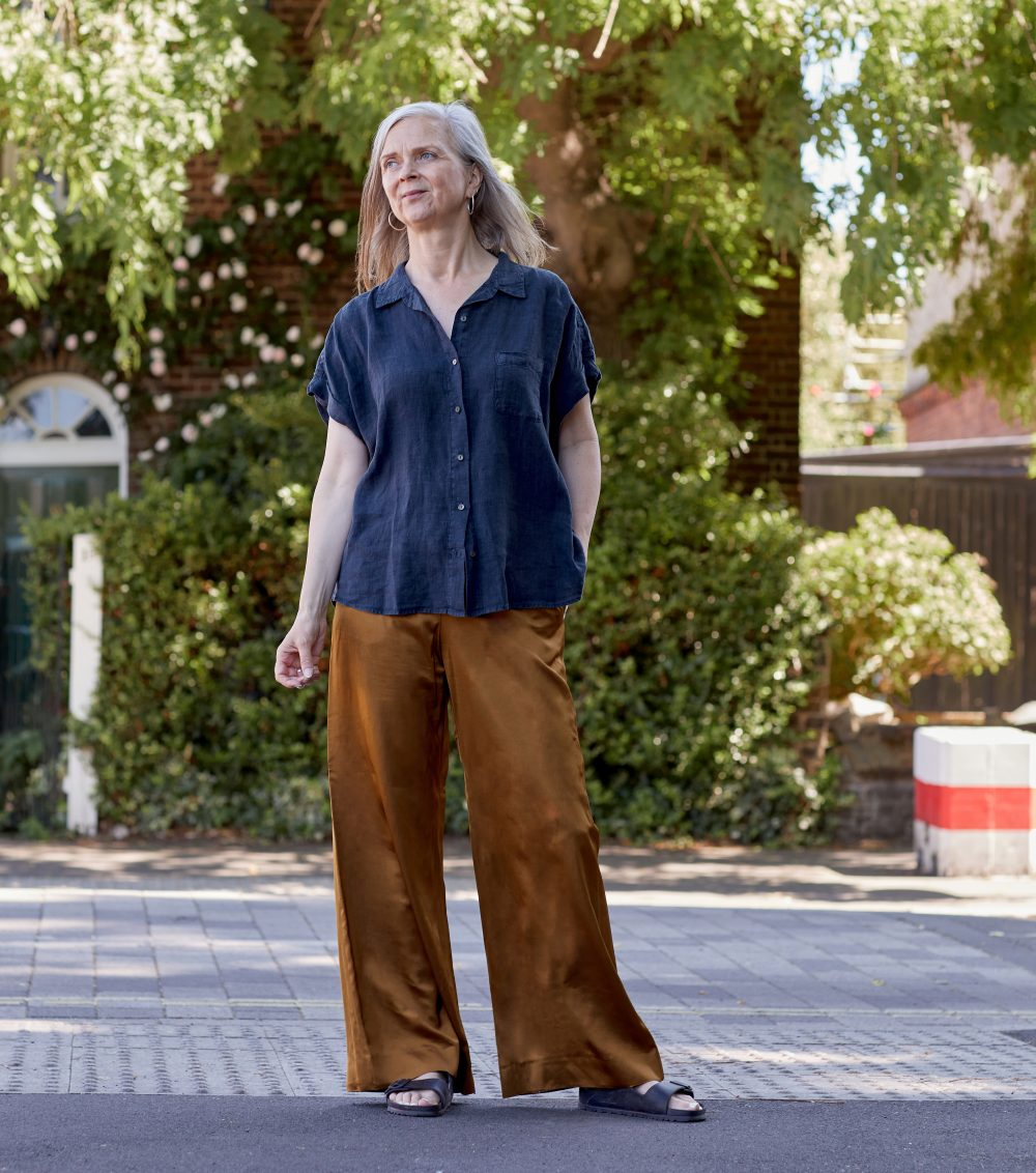 Summer style inspiration: wafty, wide-leg trousers