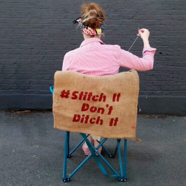 Stitch it, don't ditch it for Sustainable Fashion Week