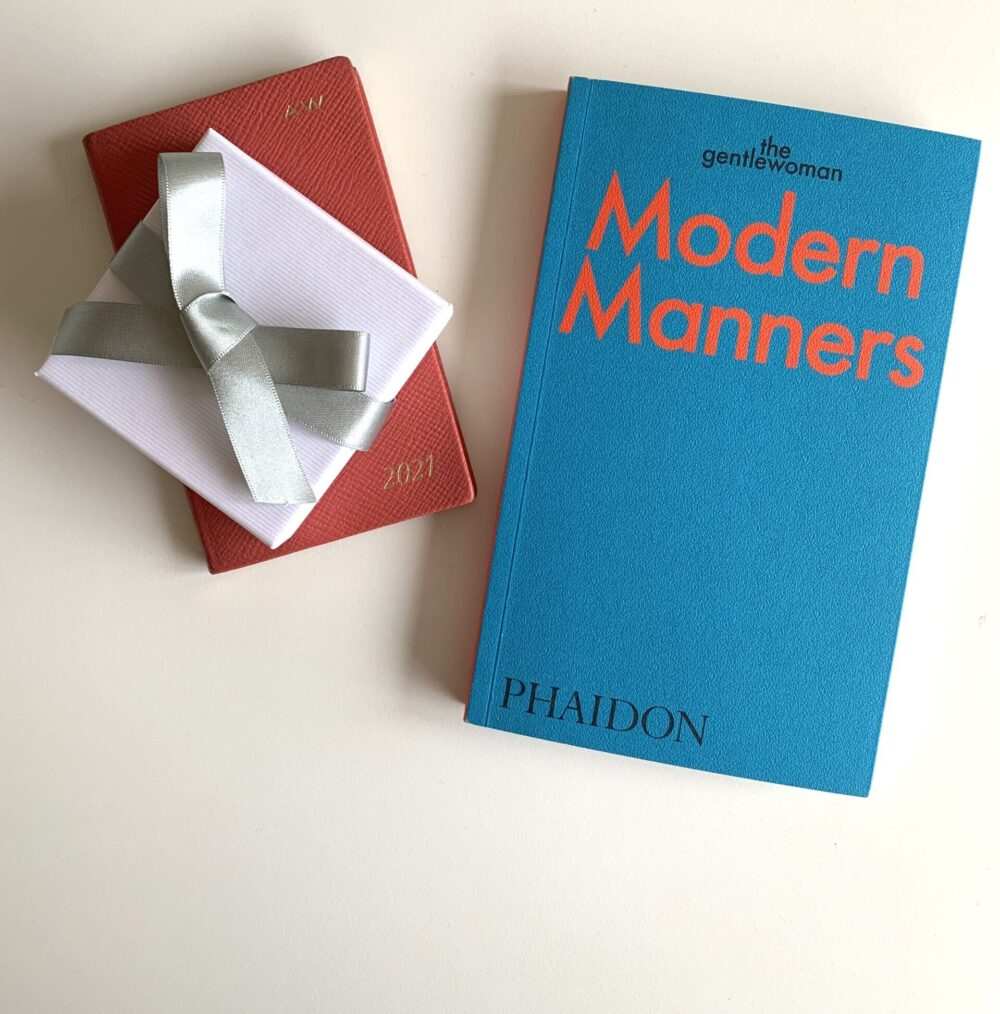 This week we're reading: The Gentlewoman's guide to Modern Manners